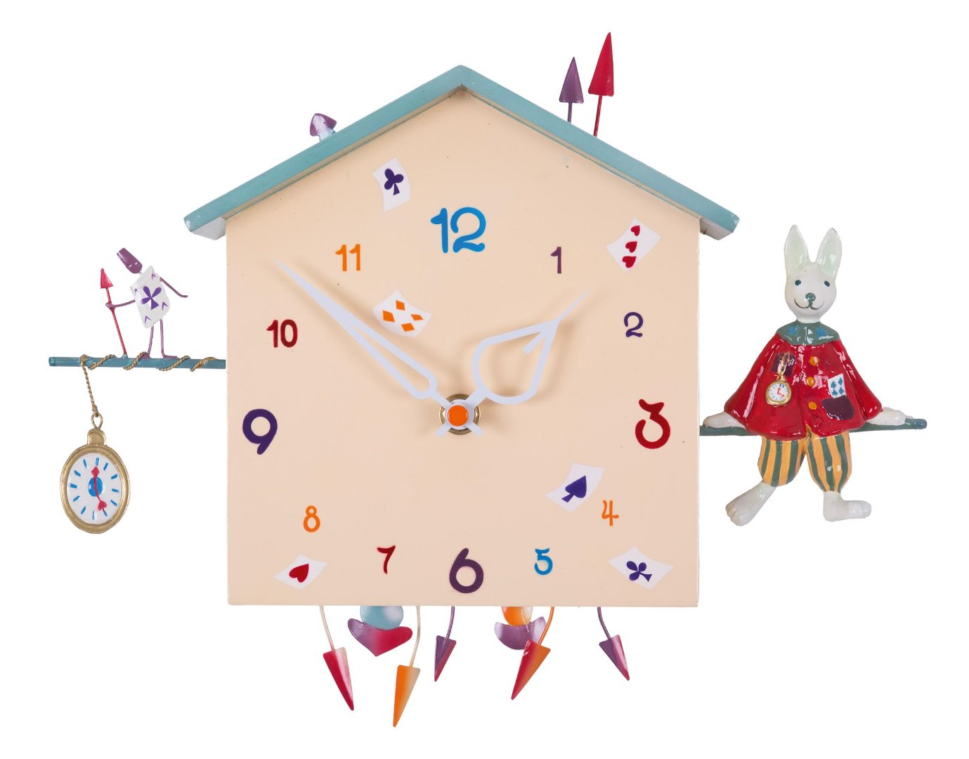 10056c2e295a Reloj de pared infantil - El Conejito