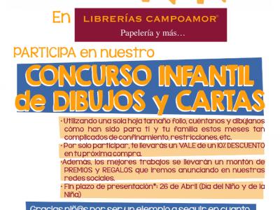 Concurso Infantil de Dibujos y Cartas Día del Niño y de la Niña
