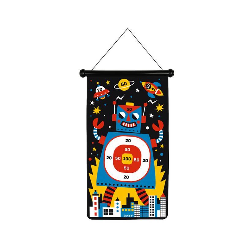juego-de-dardos-magneticos-robots