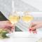 Set de 2 Copas de Vino Mr.Wonderful - Para Brindar Por Lo Que Os Propongáis y Más