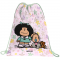 Mochila Mafalda - Mochila Saco Flores
