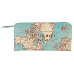 Cartera Sass & Belle Vintage Map