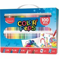 Maletín de Pinturas Color Peps 100 Piezas