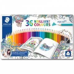Lápices de Colores Staedtler Ergosoft 36 Unidades