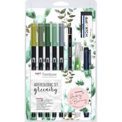 Rotuladores Lettering y Caligrafía - Set de Acuarela Tombow Art Dual Brush