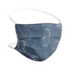 Set de 2 Mascarillas Higiénicas Reutilizables Con Filtro - Infantil