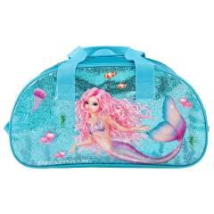 Bolsa de Deporte TOPModel - Colección Sirena Azul Purpurina