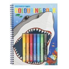 Libro de Colorear Dino World