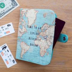 Funda para Pasaporte Sass & Belle