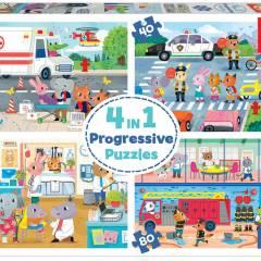 Puzzle EDUCA - Progresivos
