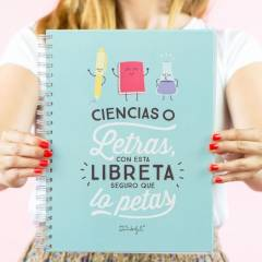 Libreta Grande Ciencias O Letras