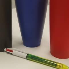 Bolígrafo Bic 4 Colores Fluo