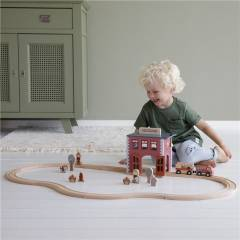Estación de Bomberos Sistema de Trenes Little Dutch