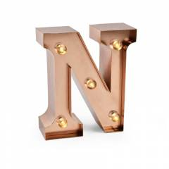 Mini Letra Decorativa y Luminosa Legami