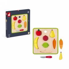 Tabla de Frutas y Verduras Magnéticas Green Market