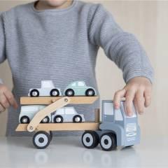 Camión Transporte de Coches Little Dutch