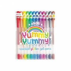 Bolígrafos de Gel y Purpurina Yummy Glitter