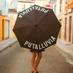 Paraguas Puta Lluvia