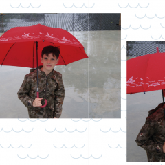 Paraguas Cadete Surf