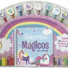 Unicornios Mágicos Para Colorear