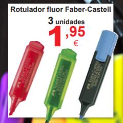 Fluorescentes Faber-Castell