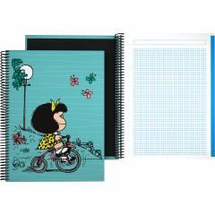 Cuaderno Mafalda