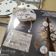 Bolas de Navidad Personalizables