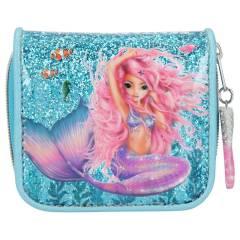 Monedero TOPModel - Colección Sirena Azul Purpurina