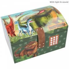 Cofre con Código Secreto y Sonido Dino World