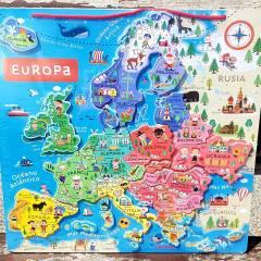 Puzle Educativo Janod - Mapa Magnético