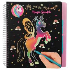 Cuaderno Para Rascar - Magic Scratch Ylvi And The Minimoomis