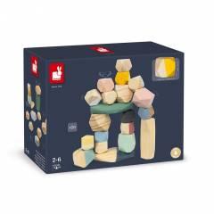 Piedras para Apilar Sweet Cocoon - Juguete de Madera