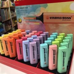 Fluorescentes Stabilo Boss Pastel - Sueltos