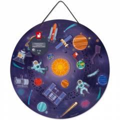 Mapa del Sistema Solar Magnético - Juego de Madera
