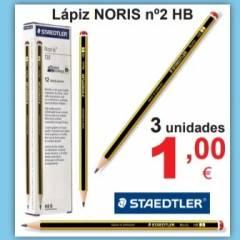 Lápiz NORIS Nº2 HB
