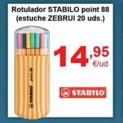 Rotulador STABILO