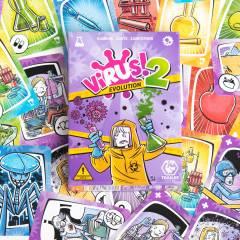 Juego de Cartas VIRUS! 2 Evolution (Expansión)