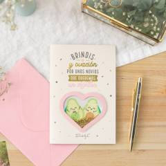Postal Mr. Wonderful - Especial Bodas