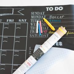 Pizarra Calendario Mes Adhesivo