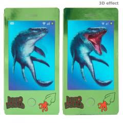 Mini Libro Colorear Dino World