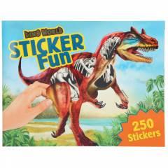 Cuaderno de Pegatinas Dino World