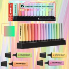 Fluorescentes Stabilo Boss Pastel - Packs