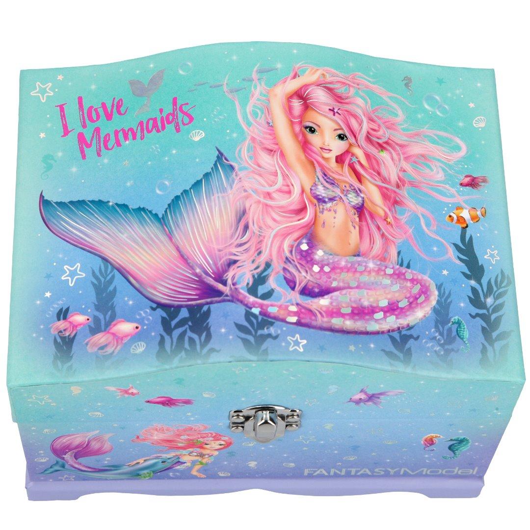 Joyero con luz Fantasy Model 11123 Mermaid