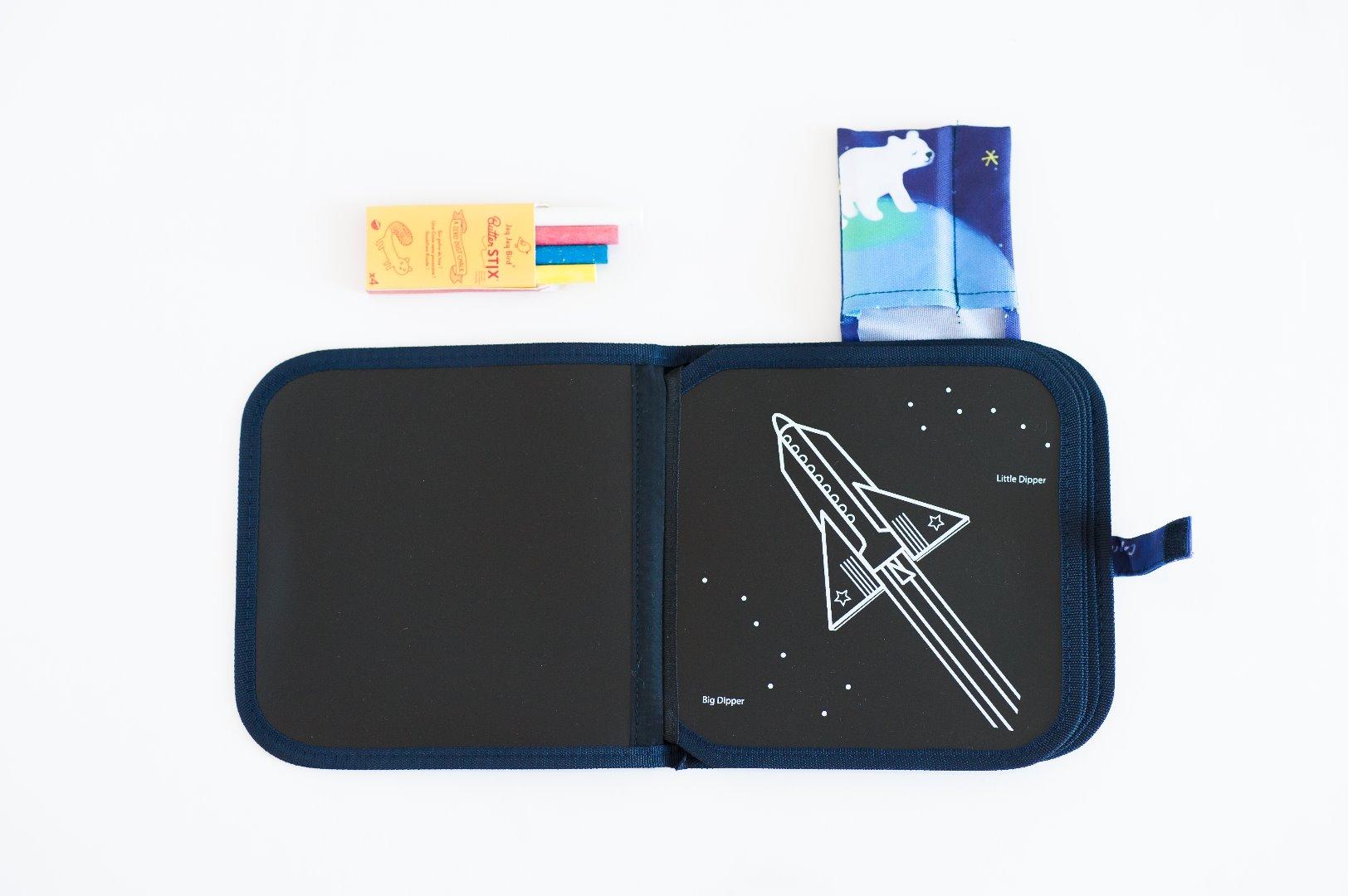 Libro Pizarra Jaq Jaq - Para Colorear Constelación